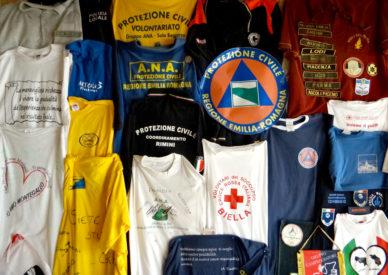 001 i volontari a Montegallo
