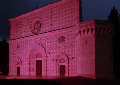 001 l'Aquila in rosa per il giro d'Italia