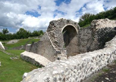 013 gli scavi di Amiternum
