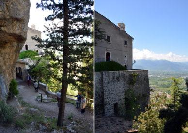 092 l'eremo di Pietro da Morrone