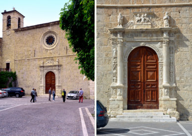 099 Madonna delle grazie con portale rinascimentale