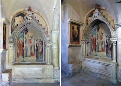 116 sepolcro gotico del XVI sec.