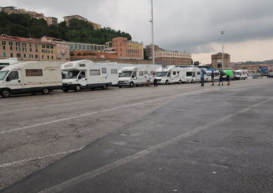 attesa imbarco Ancona