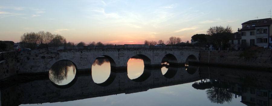002 tramonto al ponte di Tiberio