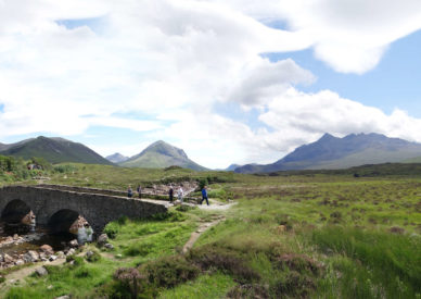 100 il ponte Glen - Skye isle